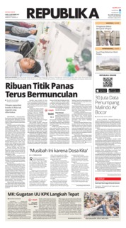 Cover Koran Republika 19 September 2019