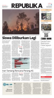 Cover Koran Republika 23 September 2019