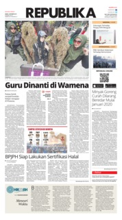 Cover Koran Republika 07 Oktober 2019