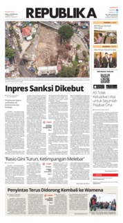 Cover Koran Republika 10 Oktober 2019
