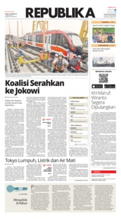 Cover Koran Republika 14 Oktober 2019