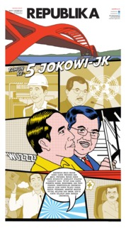 Cover Koran Republika 15 Oktober 2019