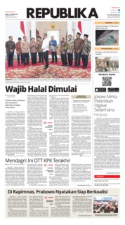 Cover Koran Republika 17 Oktober 2019