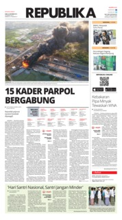 Cover Koran Republika 23 Oktober 2019