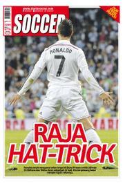 Cover Majalah SOCCER ED 13 2014