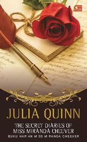 Cover The Secret Diaries of Miss Miranda Cheever - Buku Harian Miss Miranda Cheever oleh Julia Quinn