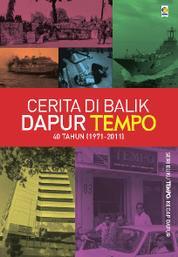 Cerita di Balik Dapur TEMPO by Tim BUKU TEMPO Cover