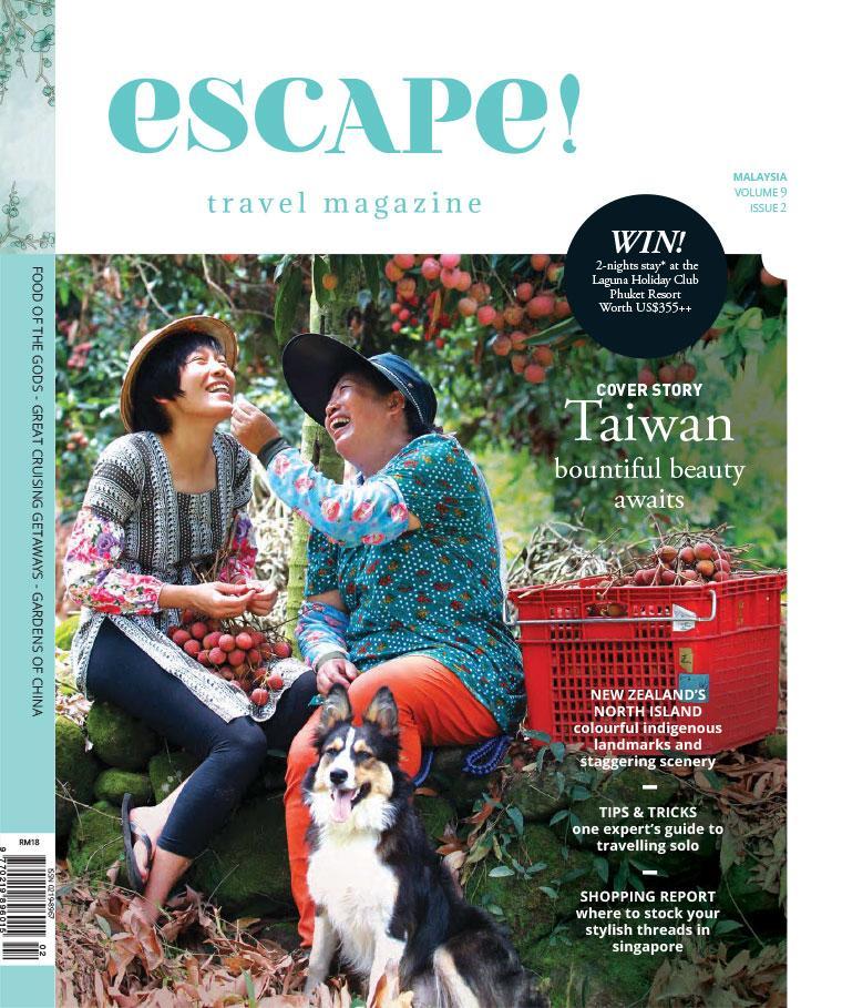 Escape! Malaysia Magazine April–May 2016 - Gramedia Digital