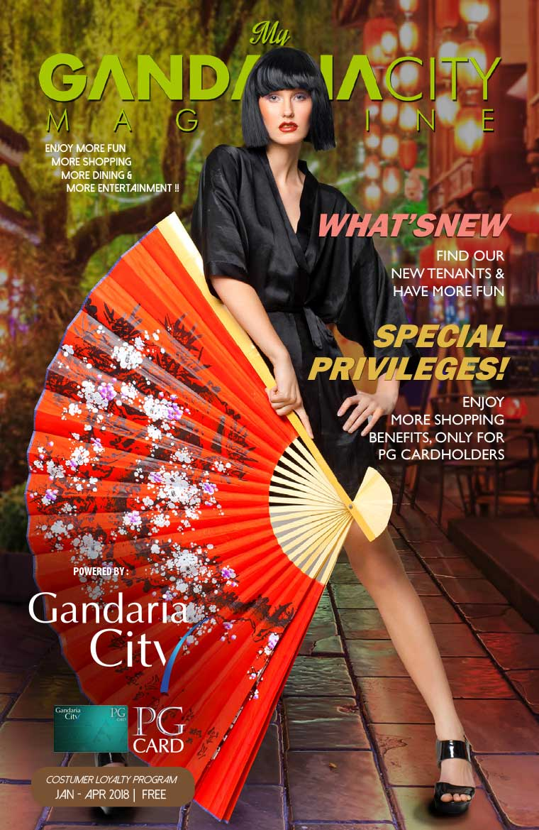 Majalah Digital My gandaria city Januari–April 2018