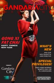 My gandaria city Magazine Cover January–April 2017