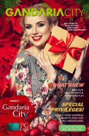 My gandaria city Magazine Cover September–December 2017