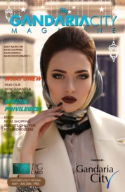 My gandaria city Magazine Cover May-August 2018