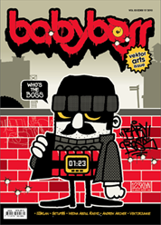 Babyboss Magazine Cover December–February 2011