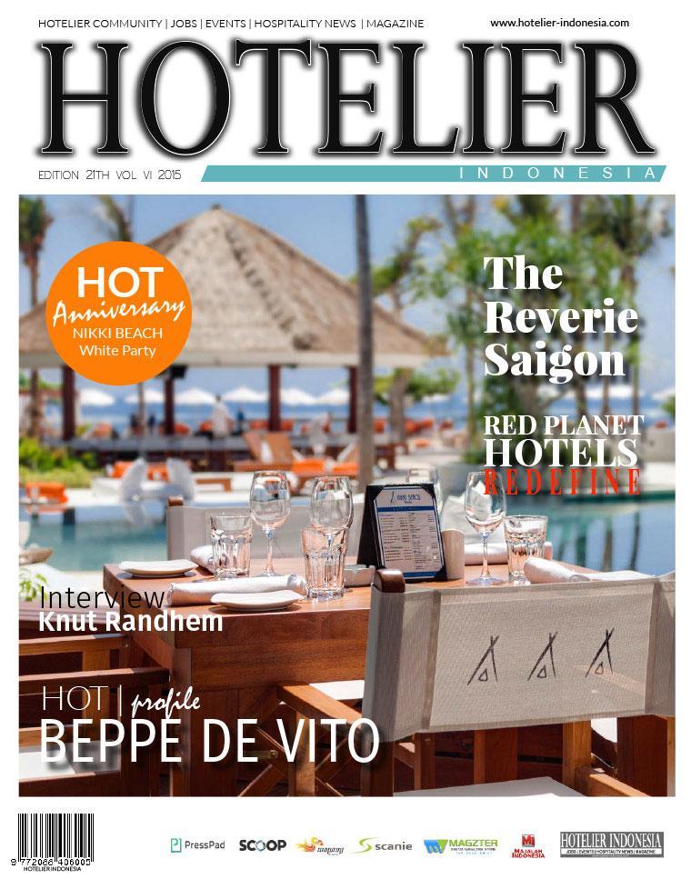Majalah Digital HOTELIER INDONESIA ED 21 Juli 2015