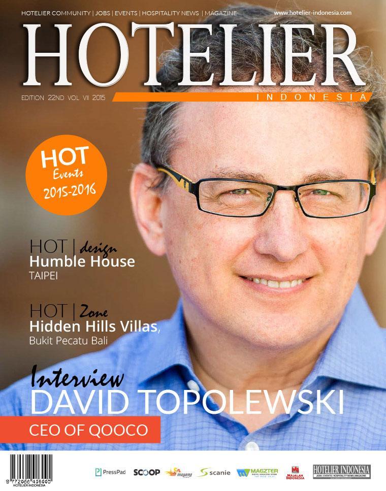 Majalah Digital HOTELIER INDONESIA ED 22 Oktober 2015