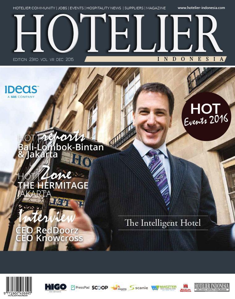 Majalah Digital HOTELIER INDONESIA ED 23 Desember 2015