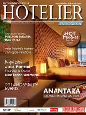 Cover Majalah HOTELIER INDONESIA ED 16 2014