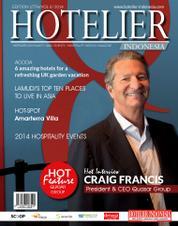 Cover Majalah HOTELIER INDONESIA ED 17 2014