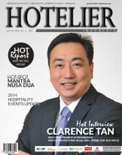 Cover Majalah HOTELIER INDONESIA ED 18 2014