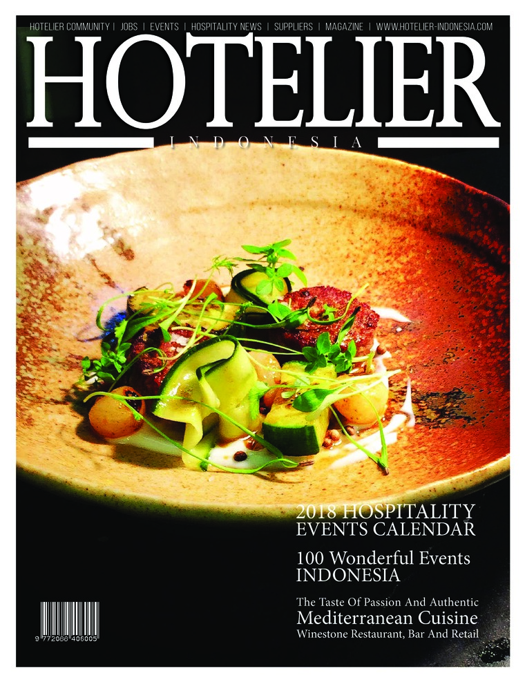 Majalah Digital HOTELIER INDONESIA ED 31 Februari 2018