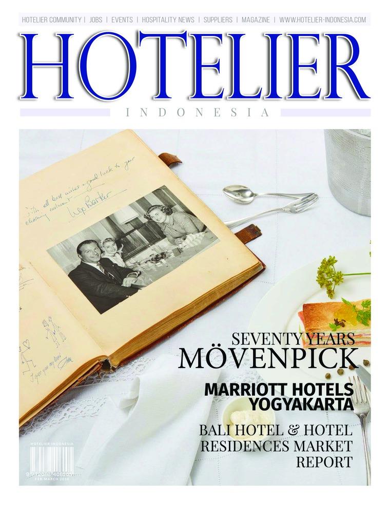 Majalah Digital HOTELIER INDONESIA ED 32 Maret 2018