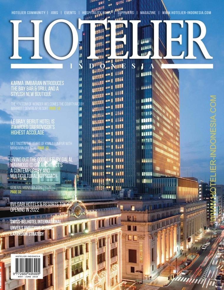 Majalah Digital HOTELIER INDONESIA ED 34 Juni 2018