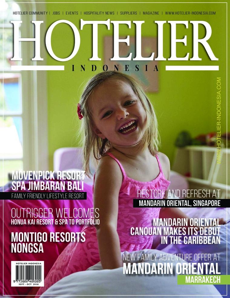 Majalah Digital HOTELIER INDONESIA ED 36 Oktober 2018