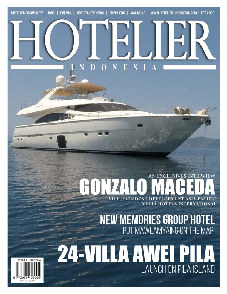 Majalah Digital HOTELIER INDONESIA ED 38 Februari 2019