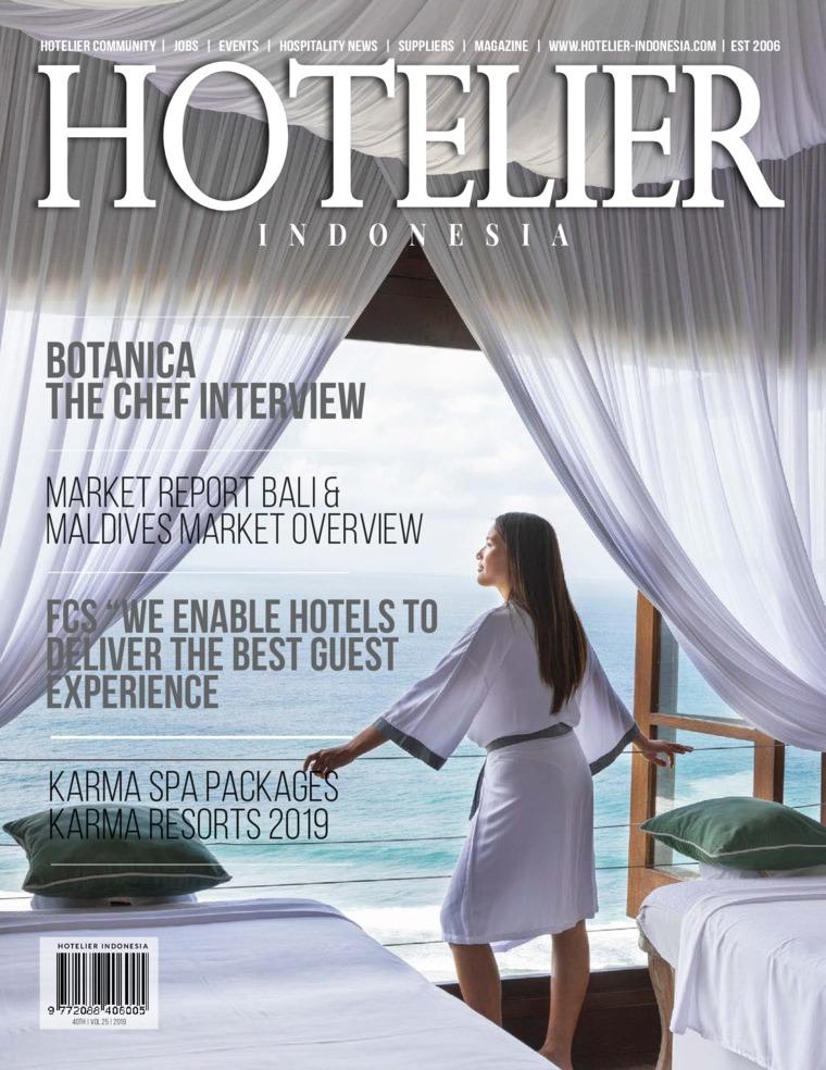 Majalah Digital HOTELIER INDONESIA ED 40 Juni 2019