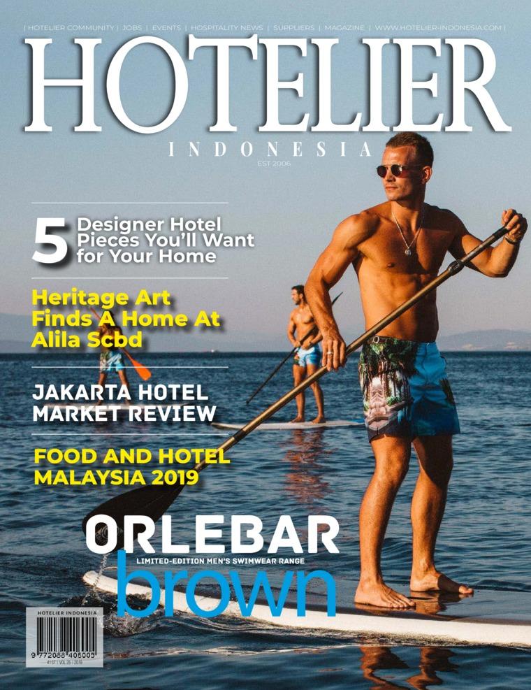 Majalah Digital HOTELIER INDONESIA ED 41 Agustus 2019