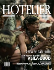Cover Majalah HOTELIER INDONESIA ED 33 April 2018