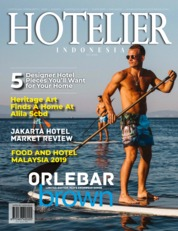 HOTELIER INDONESIA Magazine Cover ED 41 August 2019