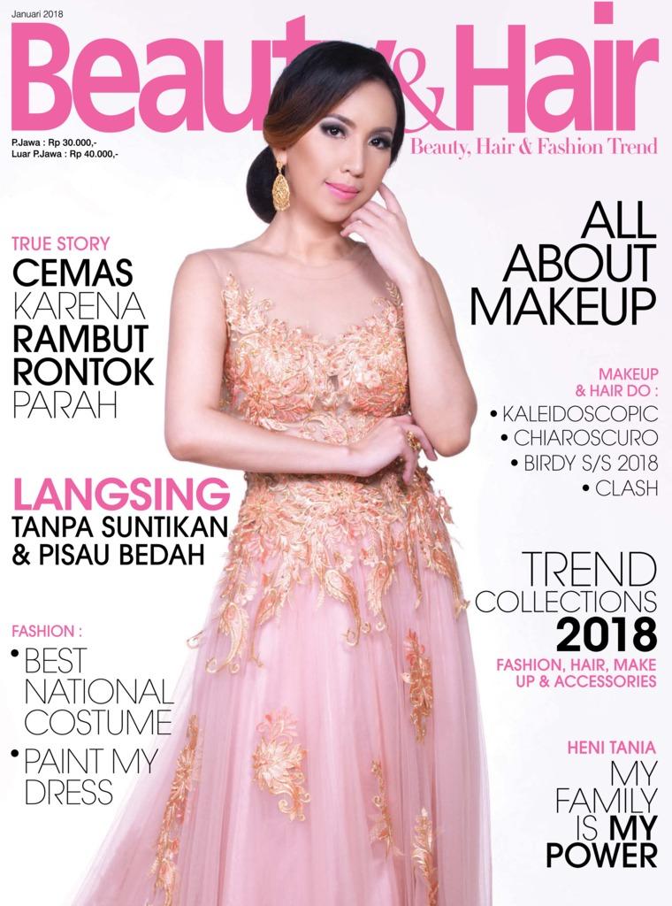 Majalah Digital BeautyandHair Januari 2018