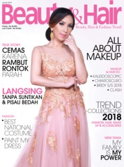 BeautyandHair Magazine Cover January 2018