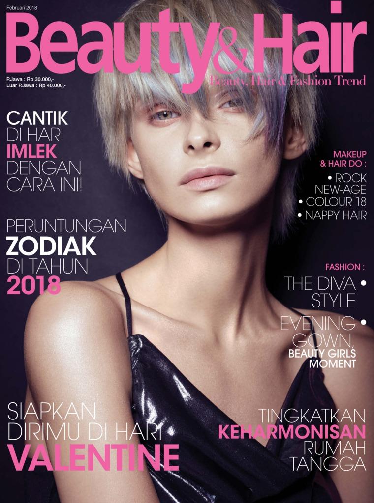 Majalah Digital BeautyandHair Februari 2018
