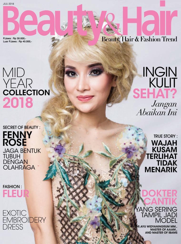 Majalah Digital BeautyandHair Juli 2018