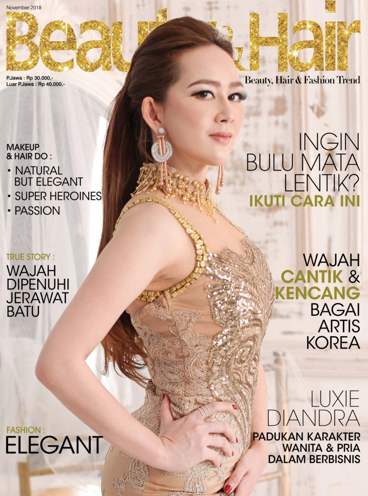 Majalah Digital BeautyandHair November 2018