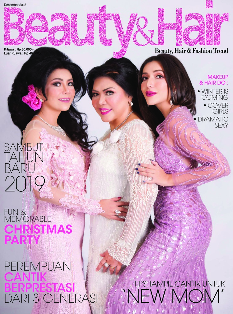 Majalah Digital BeautyandHair Desember 2018