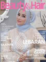 BeautyandHair Magazine Cover June 2018