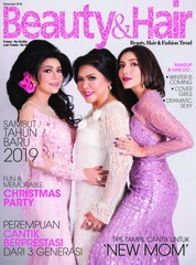 BeautyandHair Magazine Cover December 2018