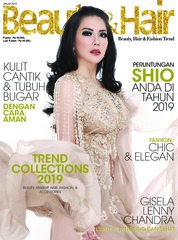 Cover Majalah BeautyandHair Januari 2019