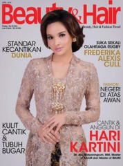 Cover Majalah BeautyandHair April 2019