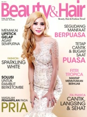 BeautyandHair Magazine Cover