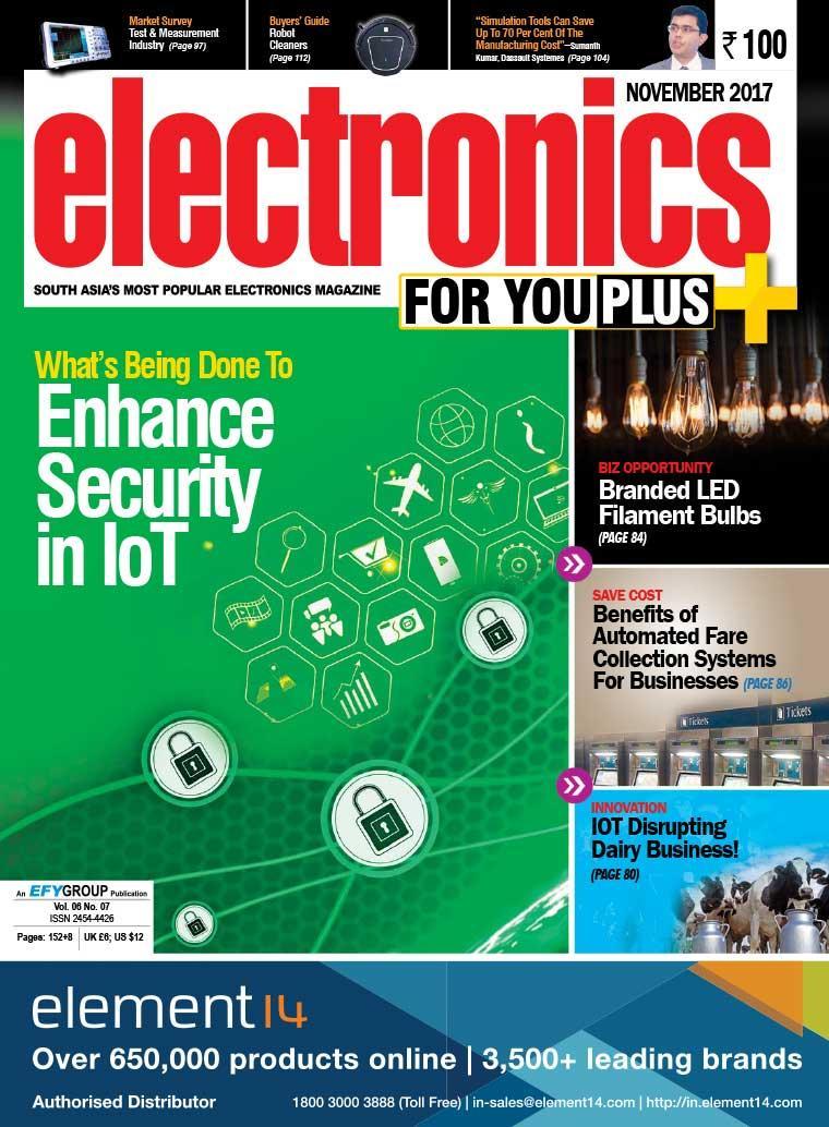Majalah Digital electronics FOR YOU November 2017