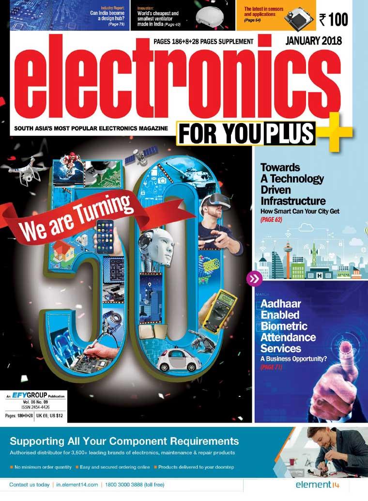 Majalah Digital electronics FOR YOU Januari 2018