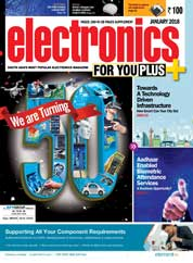 Cover Majalah electronics FOR YOU Januari 2018