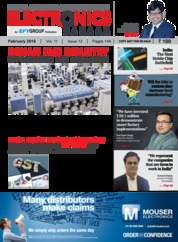 Cover Majalah electronics FOR YOU Februari 2018