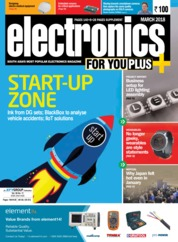 Electronics FOR YOU Magazine Cover March 2018