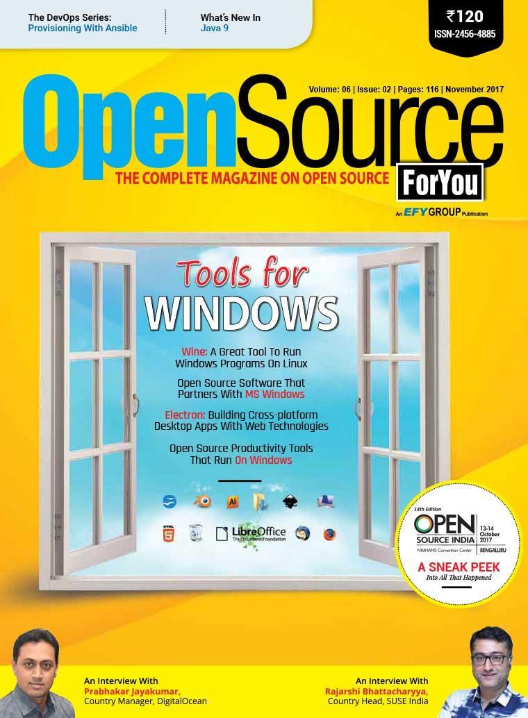 Majalah Digital Open Source FOR YOU November 2017