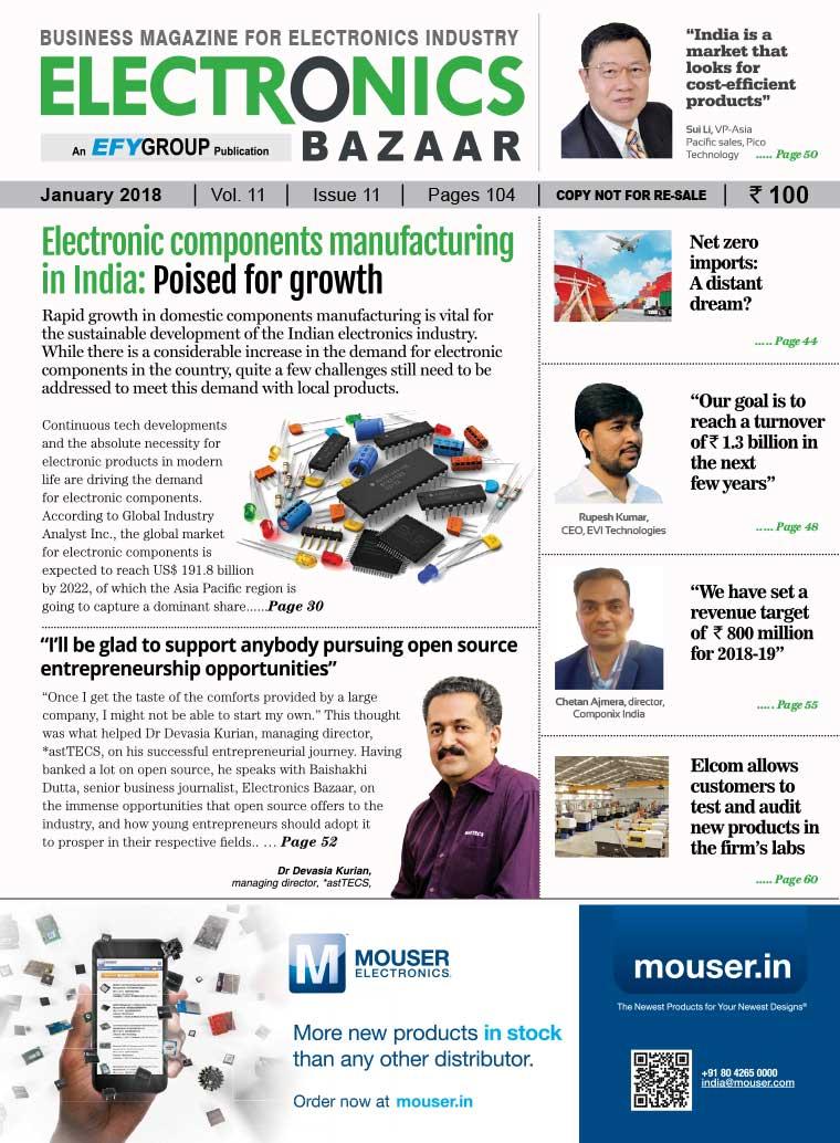Majalah Digital ELECTRONICS BAZAAR Januari 2018